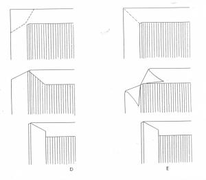 cover to cover tekening hoekjes