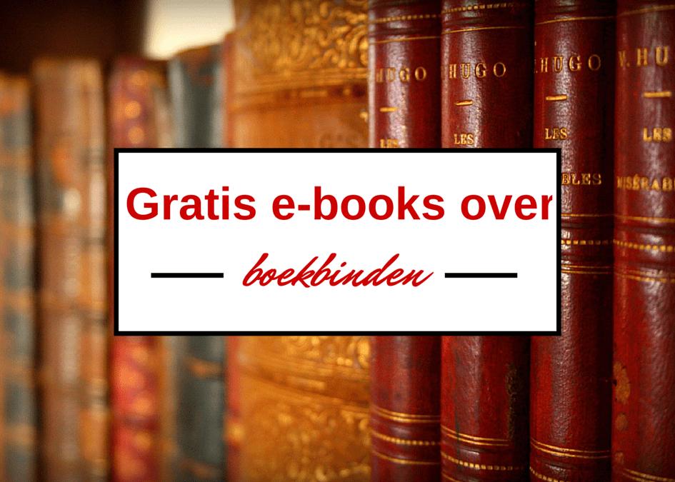 gratis e-books boekbinden