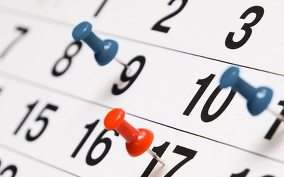 Nieuw op de website – kalender