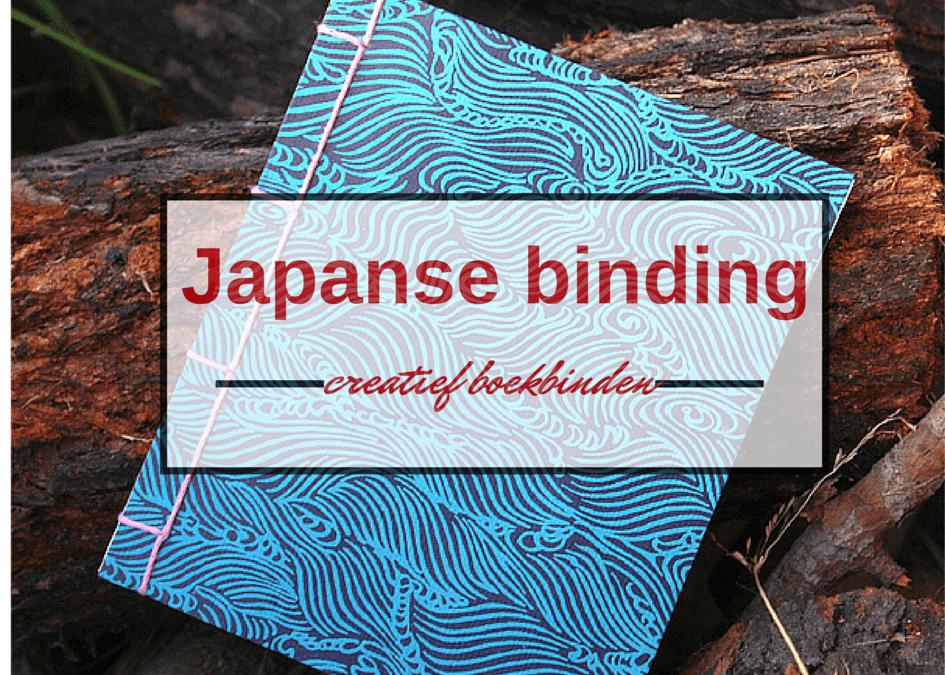 Japanse binding - tutorial