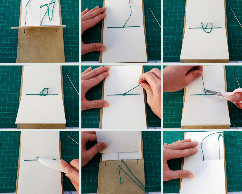 langsteekbinding tutorial