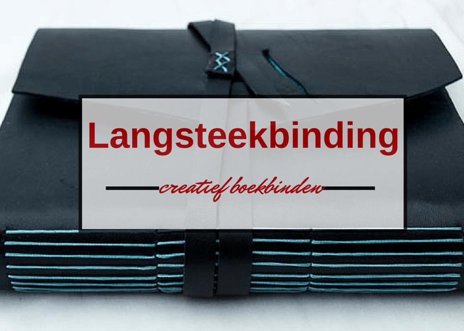 Boekbind challenge: langsteekbinding