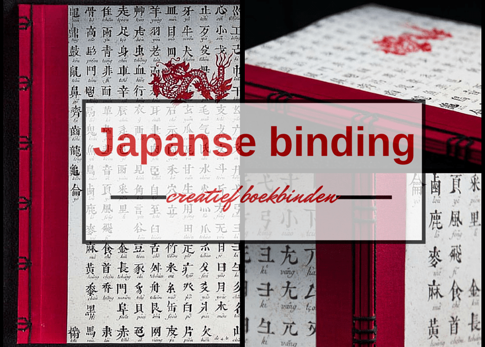 Boekbind challenge: Japanse binding