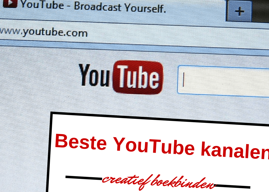Beste YouTube kanalen over boekbinden