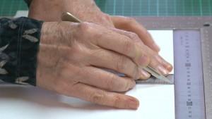 Detail DVD Perfect meten, vouwen en snijden zonder potlood.