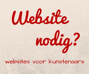 websites voor kunstenaars