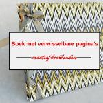 Hoe maak je zelf een boek met verwisselbare pagina's?