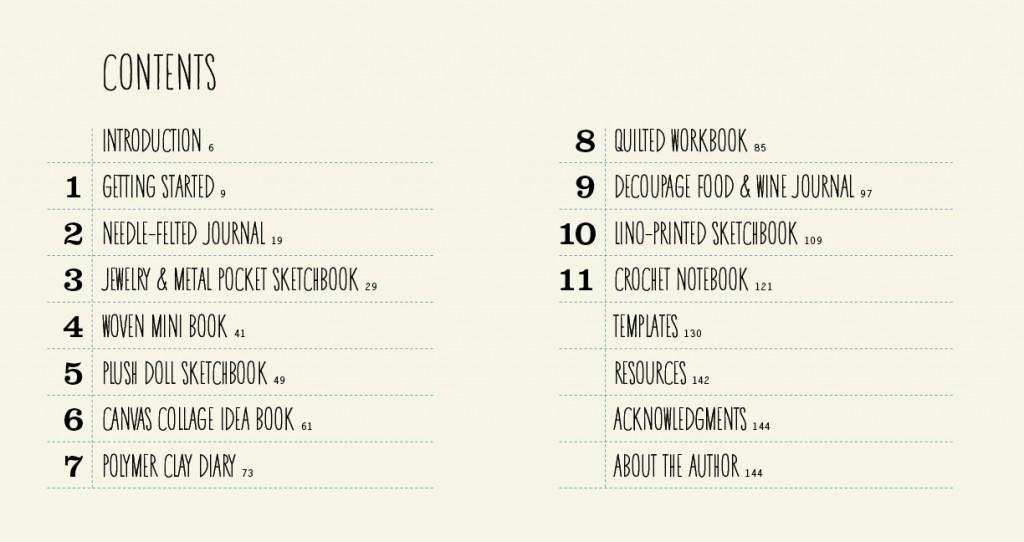inhoud adventures in bookbinding