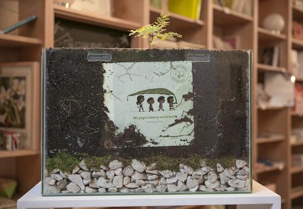 boek dat een boom wordt