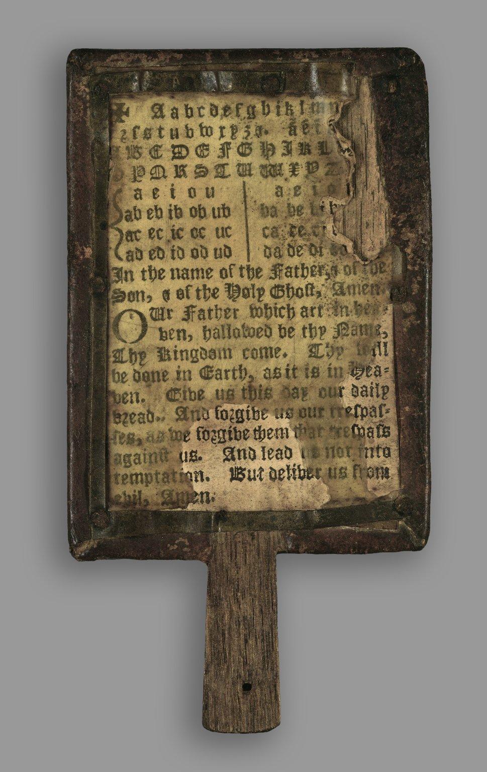 boek op een stokje