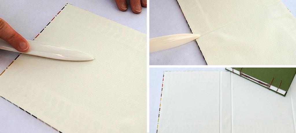 21-japanse wikkel papier binnenkant lijmen
