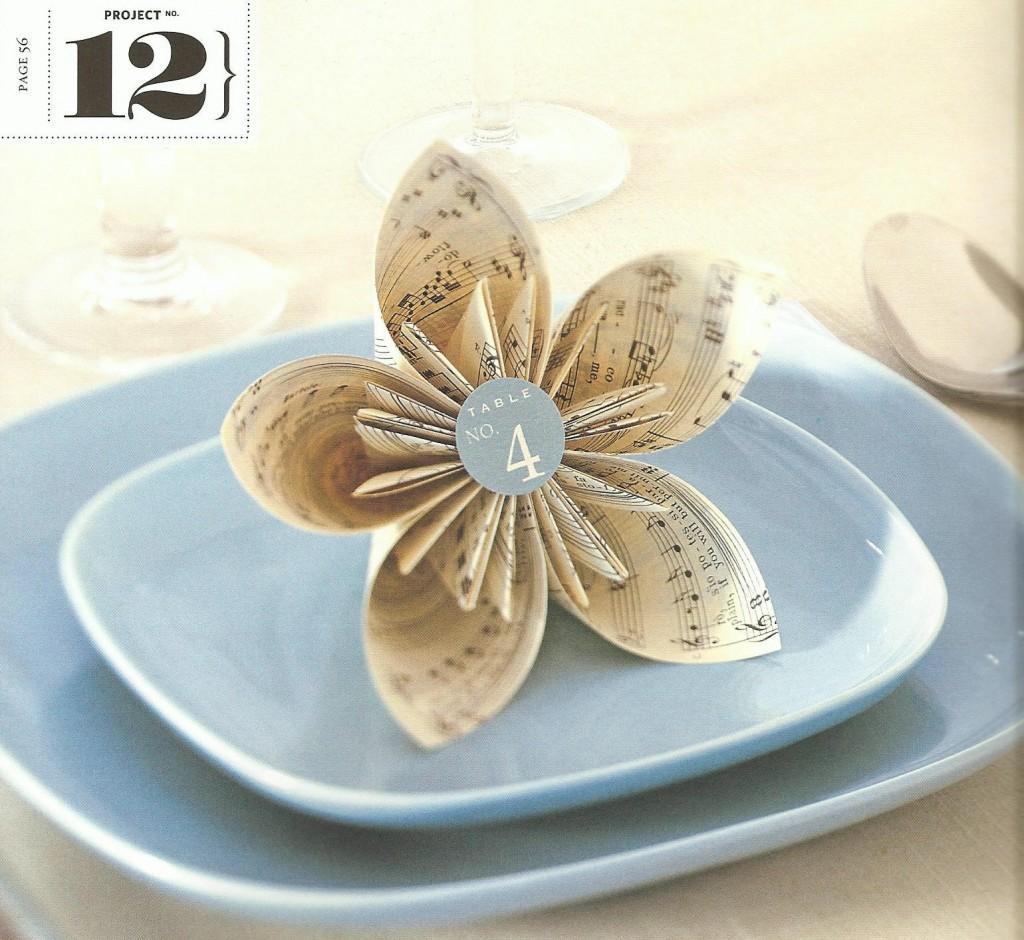 kusadami of origami bloem maken