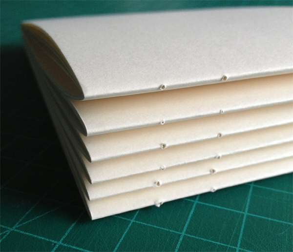 combinatie Koptische- Langsteek binding