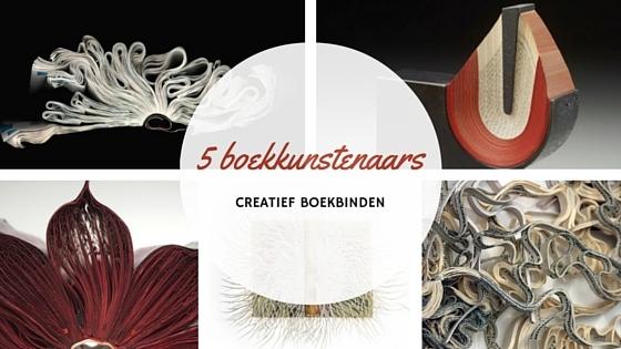 5 bijzondere boekkunstenaars