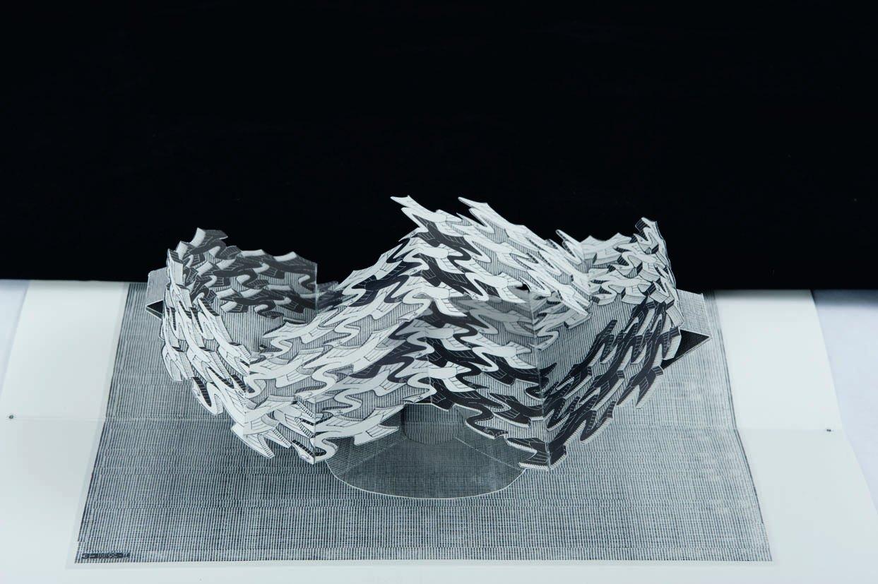 M.C. Escher in 3D