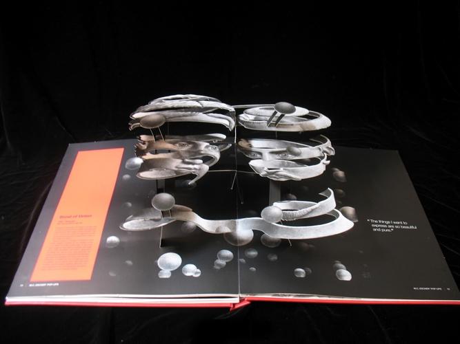 M.C. Escher - hoofden in 3D