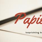 Looprichting van papier