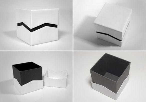 zig-zag cuff box