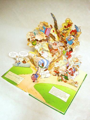popup Boek Asterix