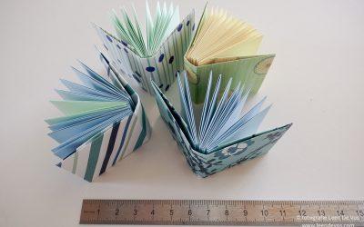 Mini origami boekje